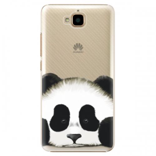 Plastové pouzdro iSaprio - Sad Panda - Huawei Y6 Pro
