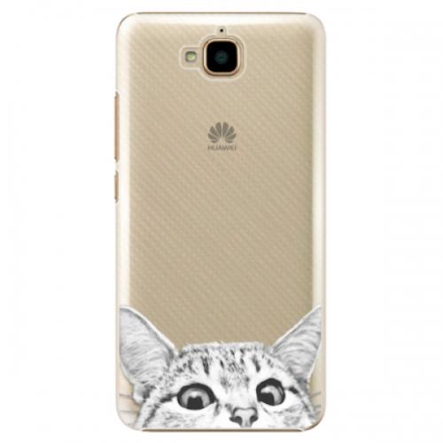 Plastové pouzdro iSaprio - Cat 02 - Huawei Y6 Pro