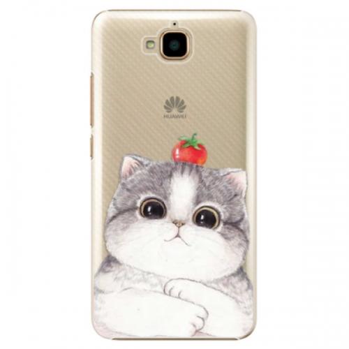 Plastové pouzdro iSaprio - Cat 03 - Huawei Y6 Pro
