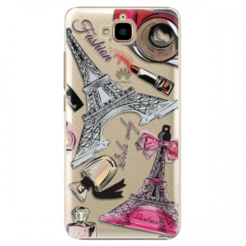 Plastové pouzdro iSaprio - Fashion pattern 02 - Huawei Y6 Pro