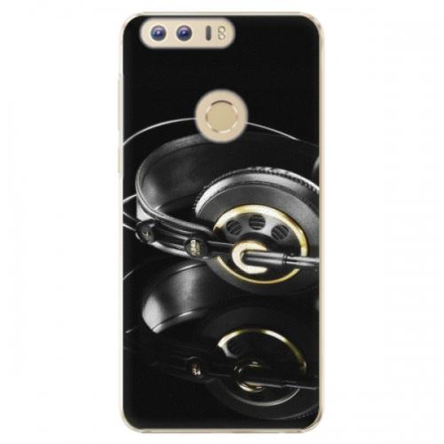 Plastové pouzdro iSaprio - Headphones 02 - Huawei Honor 8