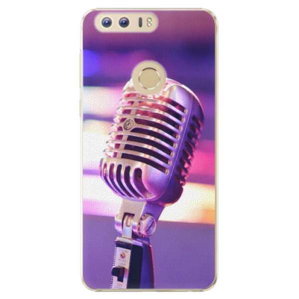 Plastové pouzdro iSaprio - Vintage Microphone - Huawei Honor 8