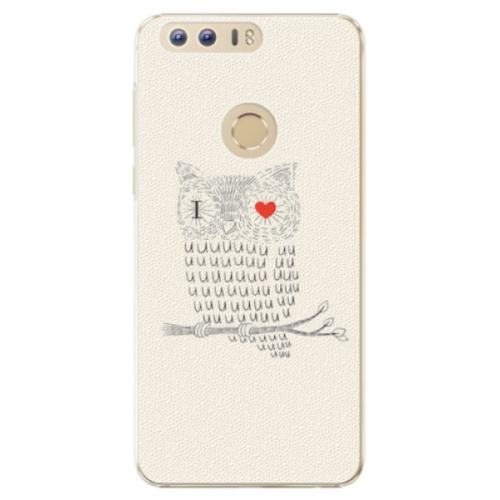 Plastové pouzdro iSaprio - I Love You 01 - Huawei Honor 8