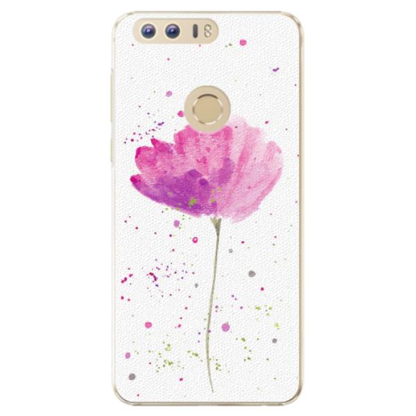 Plastové pouzdro iSaprio - Poppies - Huawei Honor 8