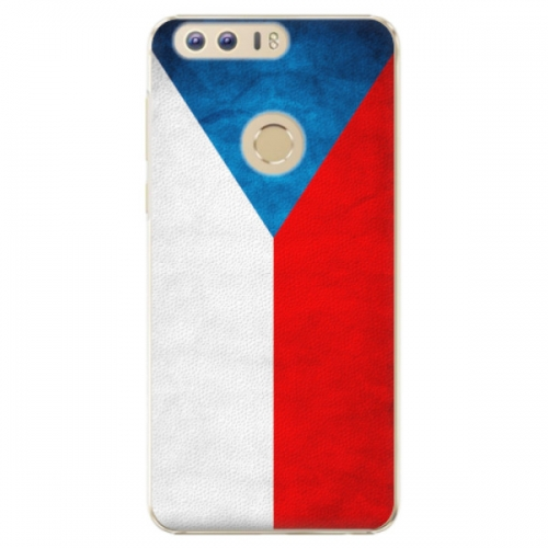 Plastové pouzdro iSaprio - Czech Flag - Huawei Honor 8