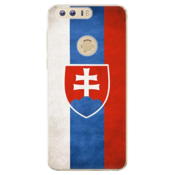 Plastové pouzdro iSaprio - Slovakia Flag - Huawei Honor 8