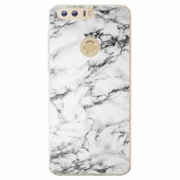 Plastové pouzdro iSaprio - White Marble 01 - Huawei Honor 8
