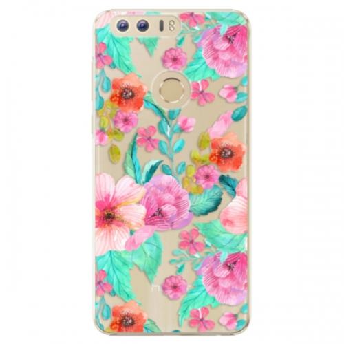 Plastové pouzdro iSaprio - Flower Pattern 01 - Huawei Honor 8