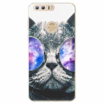 Plastové pouzdro iSaprio - Galaxy Cat - Huawei Honor 8