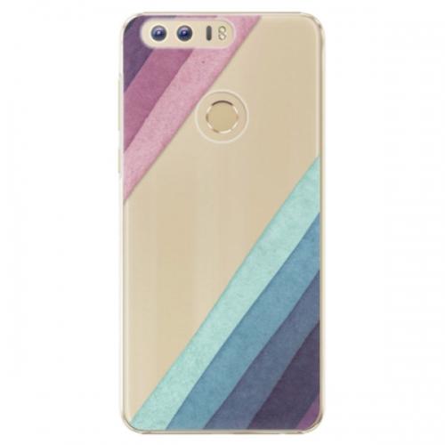 Plastové pouzdro iSaprio - Glitter Stripes 01 - Huawei Honor 8