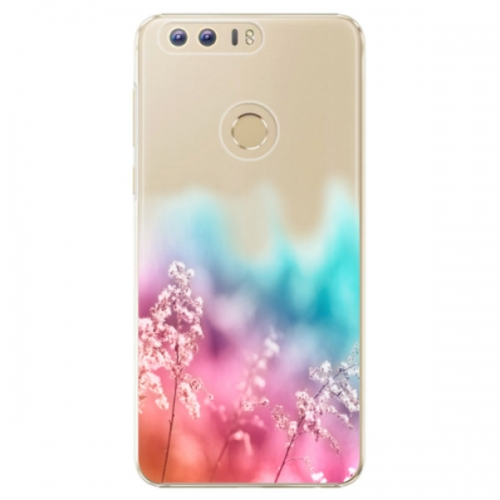 Plastové pouzdro iSaprio - Rainbow Grass - Huawei Honor 8