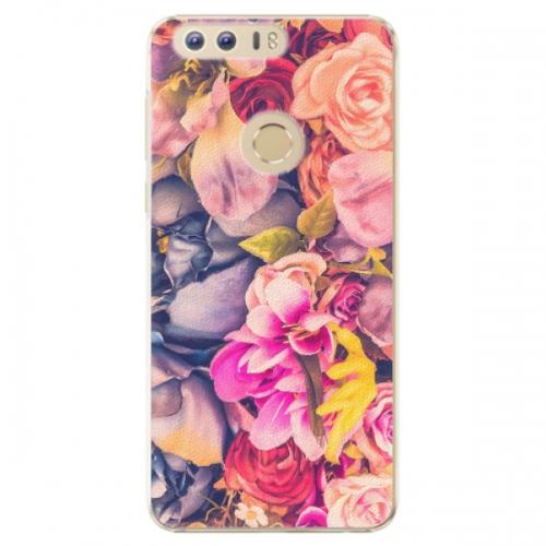 Plastové pouzdro iSaprio - Beauty Flowers - Huawei Honor 8