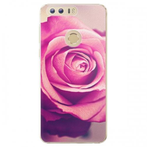 Plastové pouzdro iSaprio - Pink Rose - Huawei Honor 8