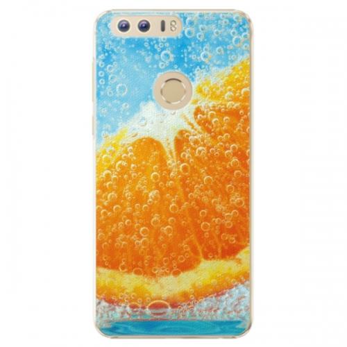 Plastové pouzdro iSaprio - Orange Water - Huawei Honor 8