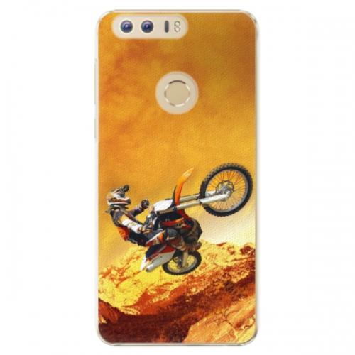 Plastové pouzdro iSaprio - Motocross - Huawei Honor 8
