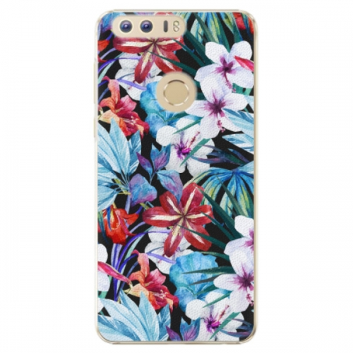 Plastové pouzdro iSaprio - Tropical Flowers 05 - Huawei Honor 8