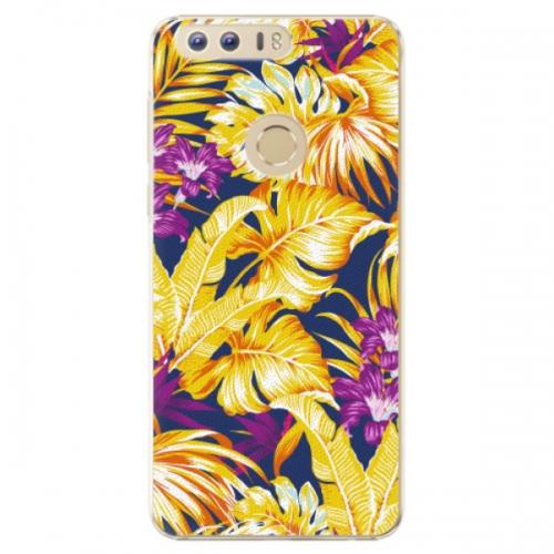 Plastové pouzdro iSaprio - Tropical Orange 04 - Huawei Honor 8