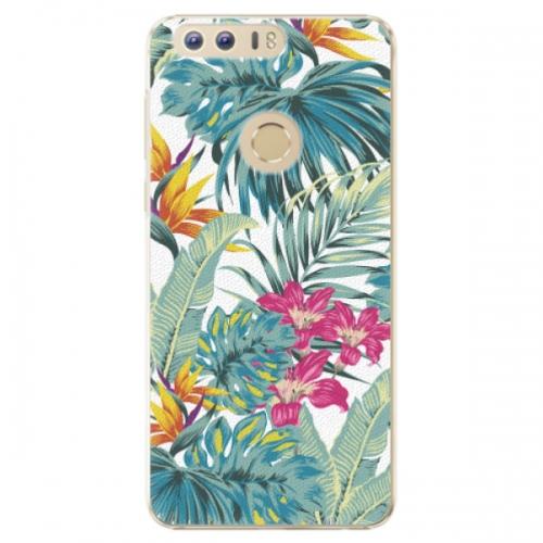 Plastové pouzdro iSaprio - Tropical White 03 - Huawei Honor 8