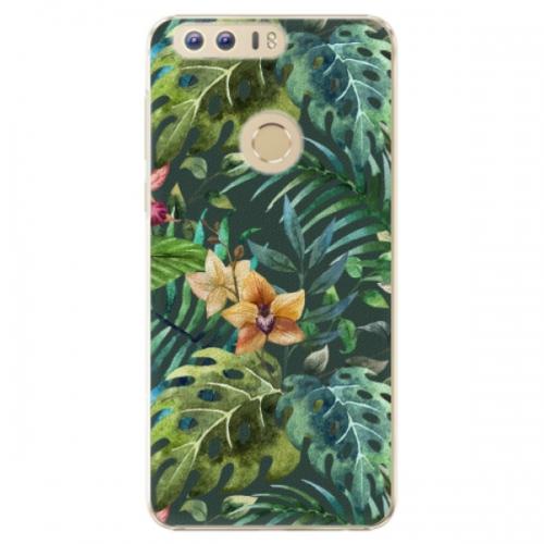 Plastové pouzdro iSaprio - Tropical Green 02 - Huawei Honor 8