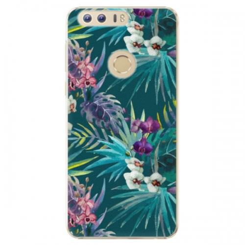 Plastové pouzdro iSaprio - Tropical Blue 01 - Huawei Honor 8