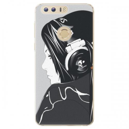 Plastové pouzdro iSaprio - Headphones - Huawei Honor 8
