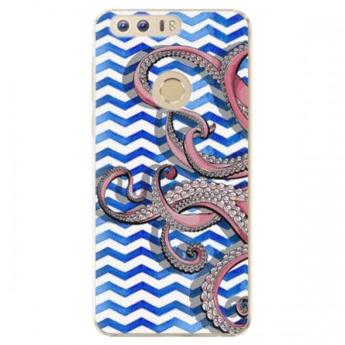 Plastové pouzdro iSaprio - Octopus - Huawei Honor 8