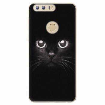 Plastové pouzdro iSaprio - Black Cat - Huawei Honor 8