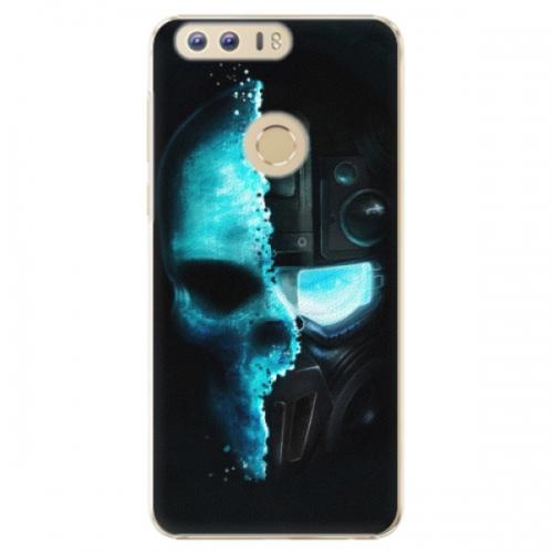 Plastové pouzdro iSaprio - Roboskull - Huawei Honor 8