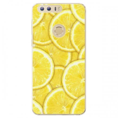 Plastové pouzdro iSaprio - Yellow - Huawei Honor 8