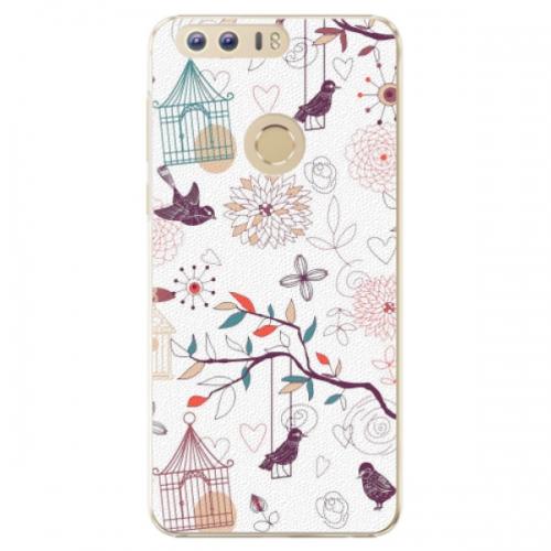 Plastové pouzdro iSaprio - Birds - Huawei Honor 8