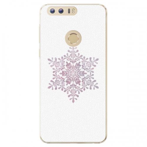 Plastové pouzdro iSaprio - Snow Flake - Huawei Honor 8