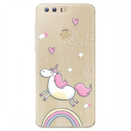 Plastové pouzdro iSaprio - Unicorn 01 - Huawei Honor 8
