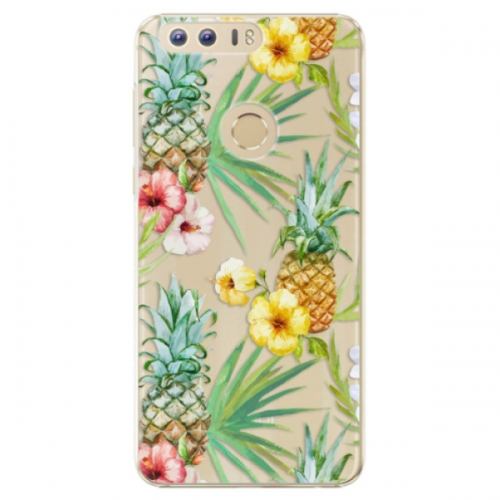 Plastové pouzdro iSaprio - Pineapple Pattern 02 - Huawei Honor 8
