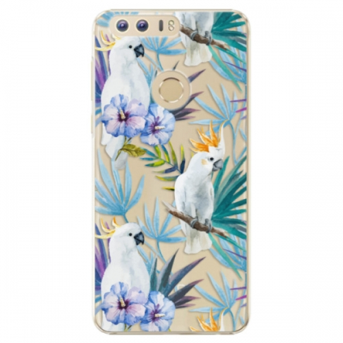 Plastové pouzdro iSaprio - Parrot Pattern 01 - Huawei Honor 8