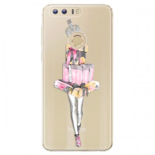 Plastové pouzdro iSaprio - Queen of Shopping - Huawei Honor 8