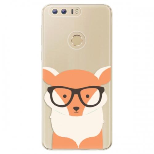 Plastové pouzdro iSaprio - Orange Fox - Huawei Honor 8