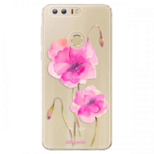 Plastové pouzdro iSaprio - Poppies 02 - Huawei Honor 8