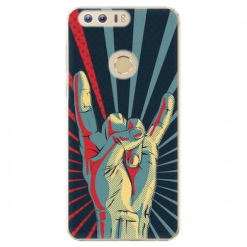 Plastové pouzdro iSaprio - Rock - Huawei Honor 8