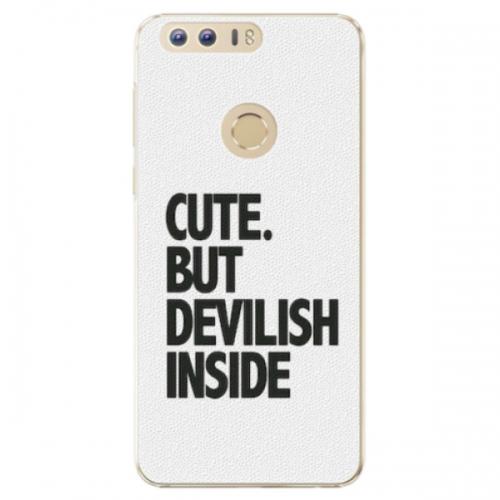 Plastové pouzdro iSaprio - Devilish inside - Huawei Honor 8