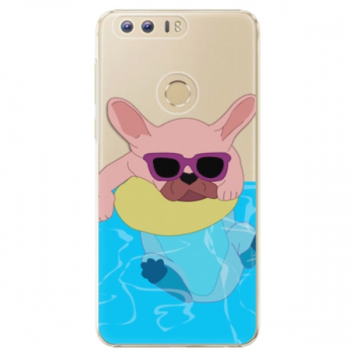 Plastové pouzdro iSaprio - Swimming Dog - Huawei Honor 8