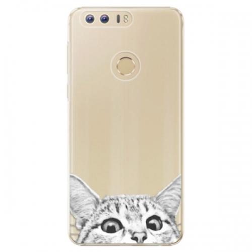 Plastové pouzdro iSaprio - Cat 02 - Huawei Honor 8