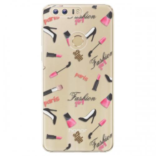 Plastové pouzdro iSaprio - Fashion pattern 01 - Huawei Honor 8