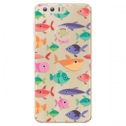 Plastové pouzdro iSaprio - Fish pattern 01 - Huawei Honor 8