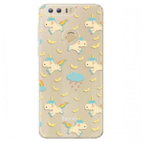 Plastové pouzdro iSaprio - Unicorn pattern 01 - Huawei Honor 8