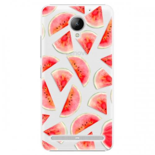 Plastové pouzdro iSaprio - Melon Pattern 02 - Lenovo C2