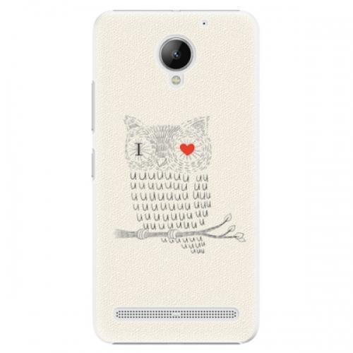 Plastové pouzdro iSaprio - I Love You 01 - Lenovo C2