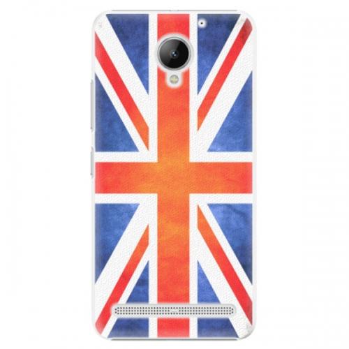 Plastové pouzdro iSaprio - UK Flag - Lenovo C2