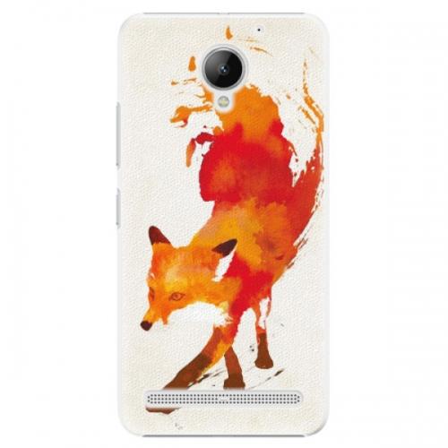 Plastové pouzdro iSaprio - Fast Fox - Lenovo C2