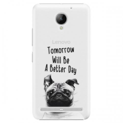 Plastové pouzdro iSaprio - Better Day 01 - Lenovo C2