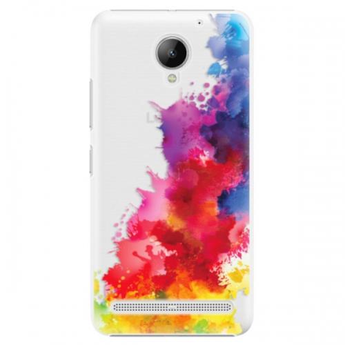 Plastové pouzdro iSaprio - Color Splash 01 - Lenovo C2